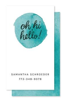 Friendly Greetings Business Cards