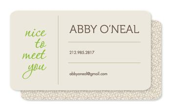 New Friends Business Cards