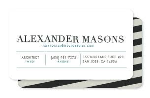 chausson Business Cards