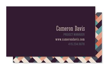 Woven Business Cards