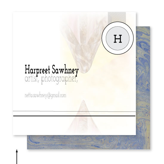 business cards - timeless devotion by Neeta Sawhney