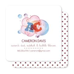 Bubble Blower Business Cards