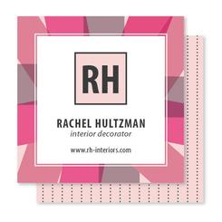 Colorful Rays Business Cards