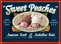 Sweet Peaches by Scott Chaimowicz