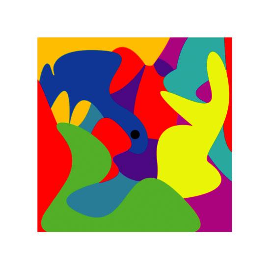 art prints - Black Dot by Cindy Jost