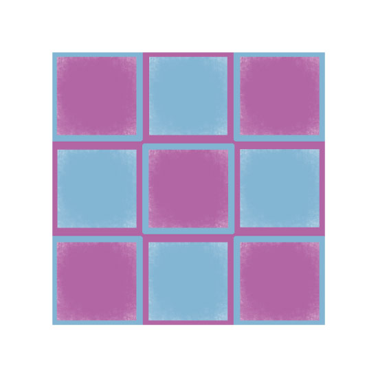 art prints - Shabby Squares by Cindy Jost