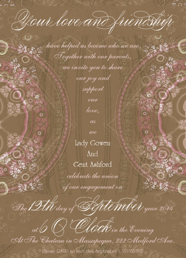 invitations - 18th Century Vintage by Jessica Termini