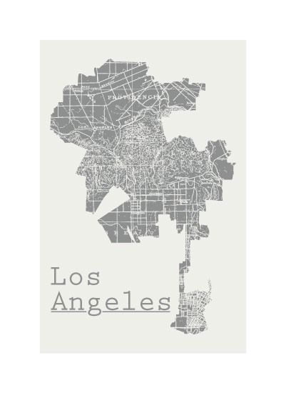 art prints - Historic LA by Jennifer Morehead