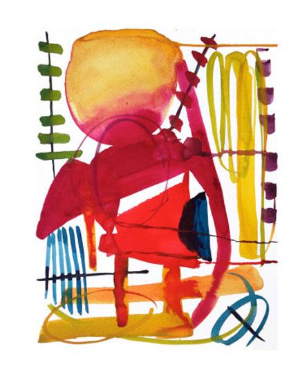 art prints - salutations by Kiana Mosley