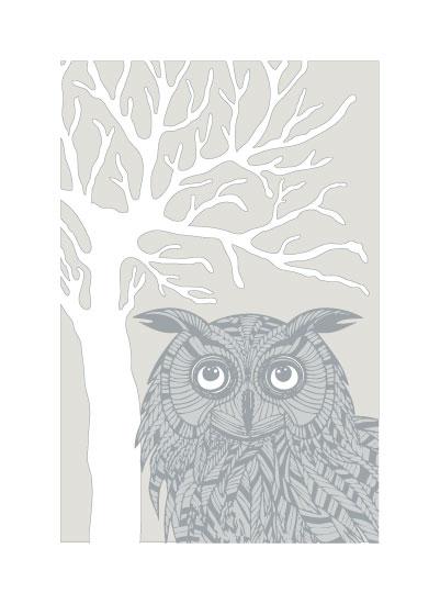 art prints - Owl