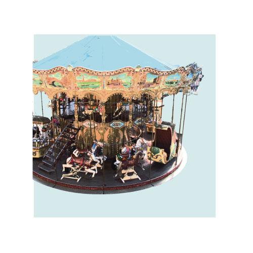 art prints - Parisian Carousel