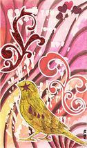 Mardi bird by Marcella Bingham