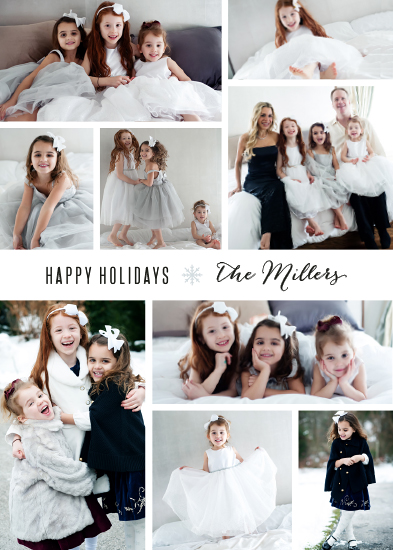 holiday photo cards - Photo Wall
