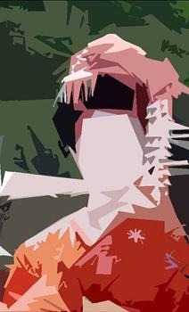 geisha abstract