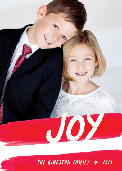 holiday photo cards - Candy Cane Stripes
