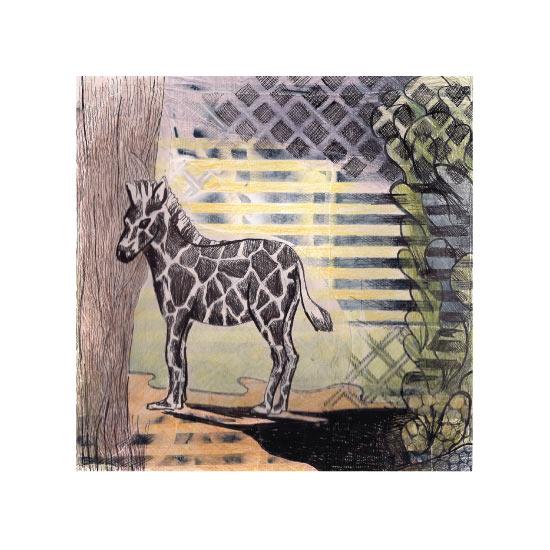 art prints - My Zebra by Lisa Travis