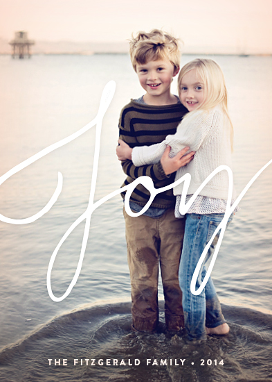 holiday photo cards - The Biggest Joy