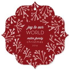 Joy to Our World Red Wreath