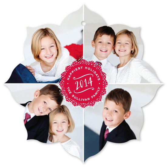 holiday ornament cards - 4 Corners