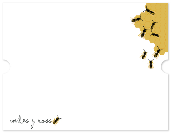 personal stationery - Busy Bees by Kate Ross
