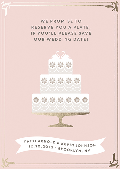 save the date cards - Promises, Promises!