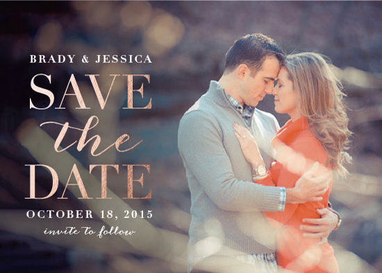 save the date cards - Classica