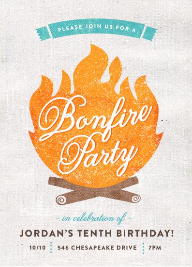 Bonfire Party Invites as great invitations ideas
