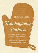 Retro Oven Mitt Potluck by Sarah Stearns