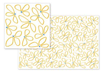 Simple Yellow Flowers  by Chelsey Scott