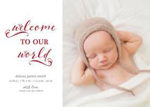 Welcome to our World by Christy Allison Design