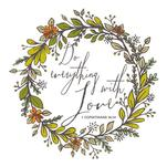 Do Everything With Love by Raybo Design