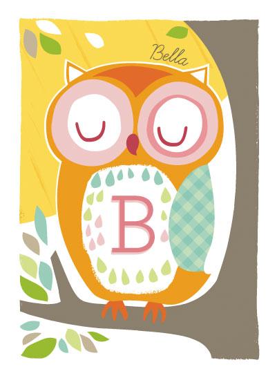 art prints - Sunny Owl