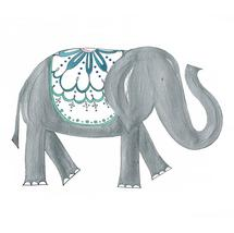 Elephant Love, no.1 by Kathryn Cole