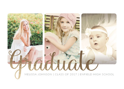 graduation announcements - Throughout the Years
