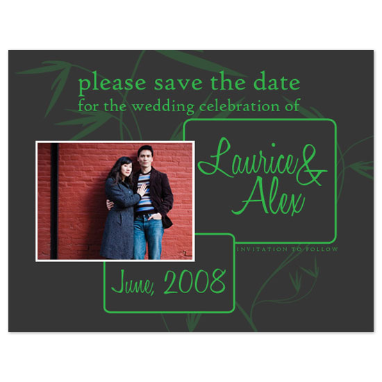 save the date cards - Serenity by Simetra