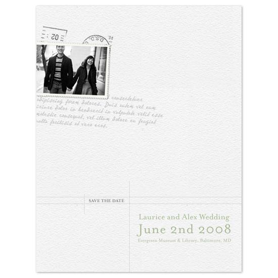 save the date cards - Hold Notice  by Jola Hyjek