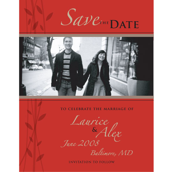 save the date cards - Naturally Simplistic by bsmdesigner