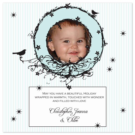 holiday photo cards - A Touch of Whimsy by Holly Hatam