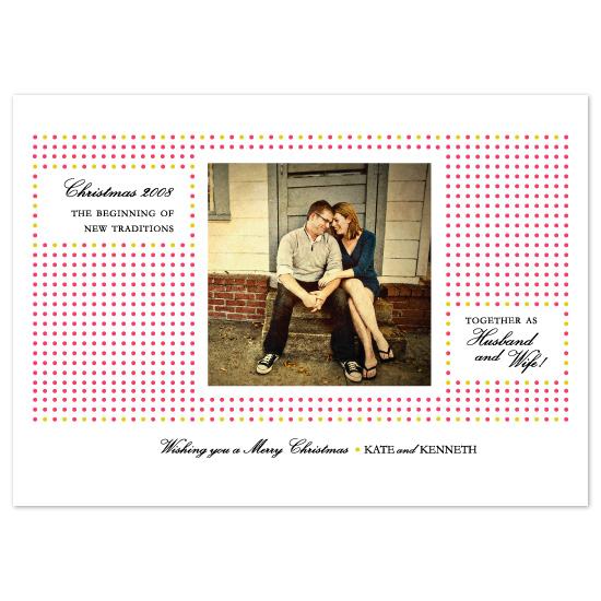 holiday photo cards - Christmas...new traditions by pinkeye design
