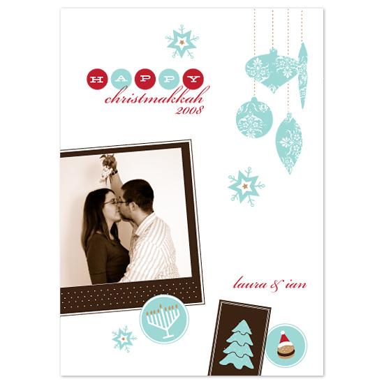 holiday photo cards - Happy Christmakkah by wondereyes