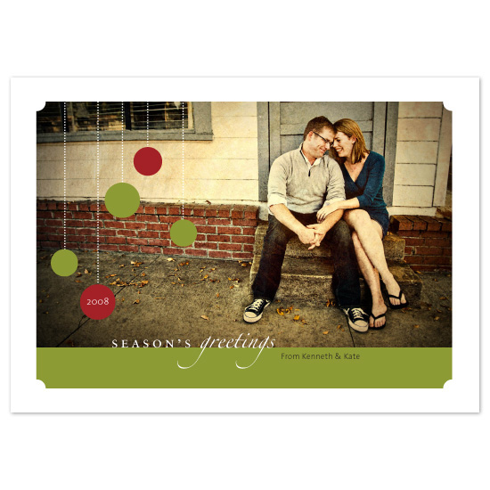 holiday photo cards - Season's Greetings by MM Design Studio