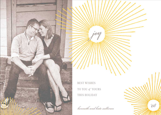 holiday photo cards - float + joy by Float Paperie