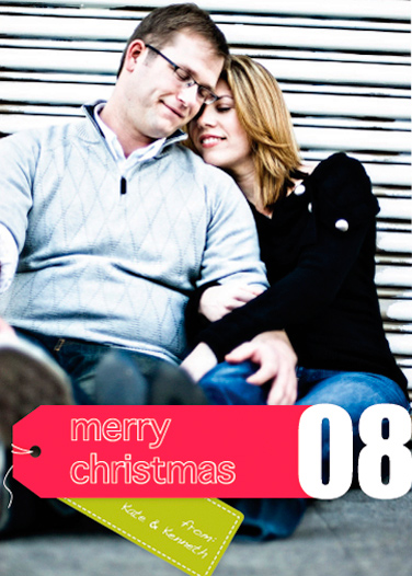 holiday photo cards - Modern Gift by 10 1/2 Studios