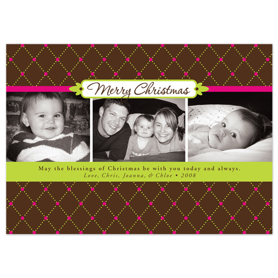 holiday photo cards - Merry Dots by Tara Hanneman