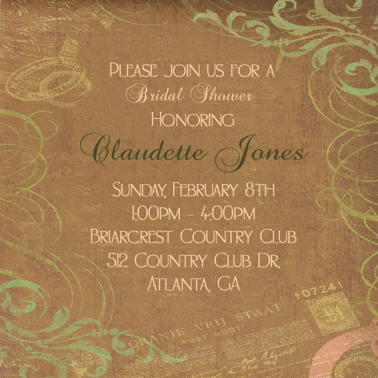 bridal shower invitations - Magical Love by JMHickerson Designs