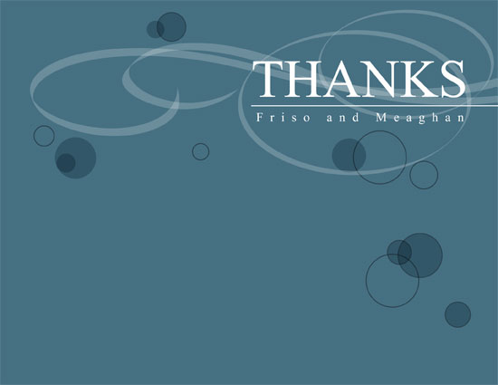 thank you cards - unusual by cristian sigua