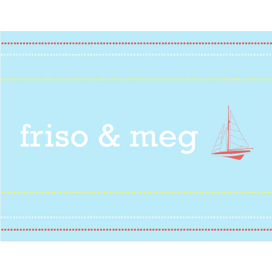 thank you cards - simple sail by pook&diesel