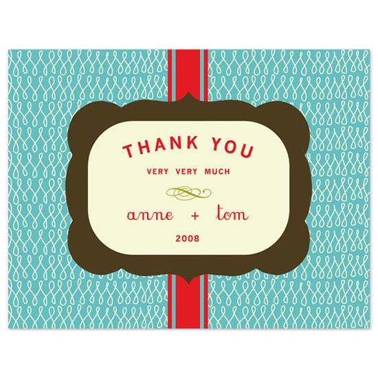 thank you cards - Vintage Love by Carolyn Kozlowski