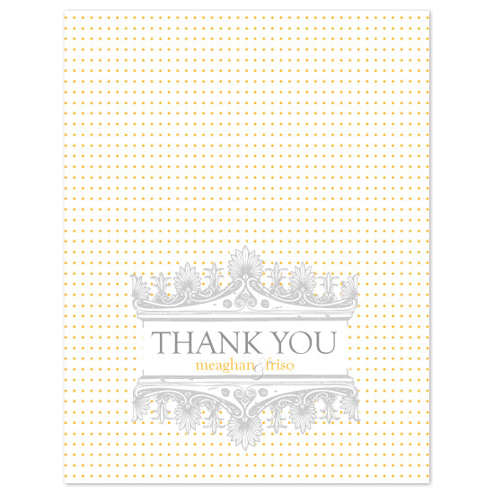 thank you cards - Delicate by Puppy Love Design