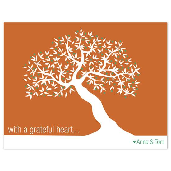 thank you cards - Grateful Heart by Allison Leutschwager